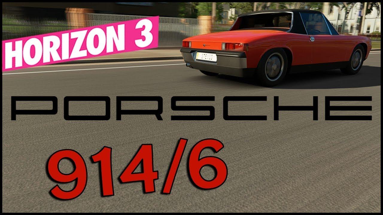 Forzathon Exclusive Porsche 914 6 Forza Horizon 3 Porsche 914 6 Review Gameplay Porsche 914 6 Youtube