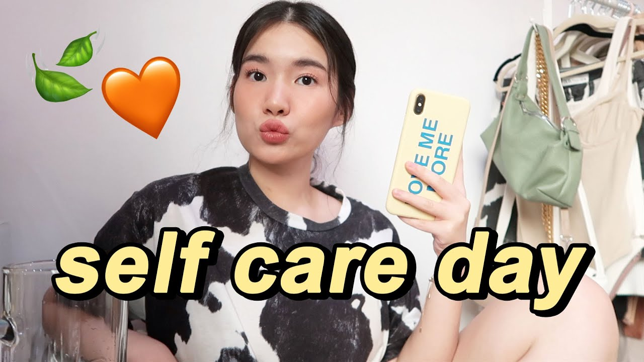Get Ready With Me + Self Care 😌🧡 | Toni Sia