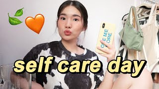 Get Ready With Me + Self Care 😌🧡 | Toni Sia