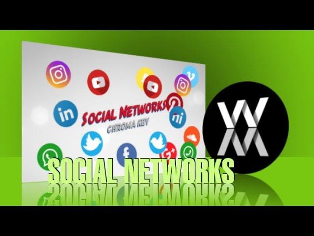 Chroma Key - Social Networks