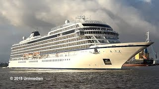 VIKING SKY | maiden call in Hamburg, Germany's second largest city | 4K-Quality-Video