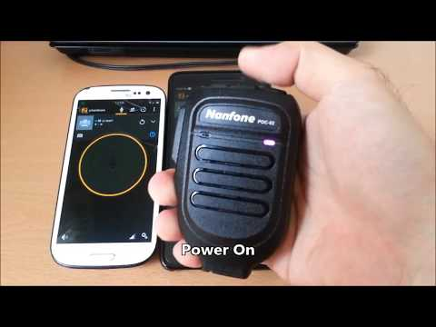 Nanfone PTT Demo Zello App On Android Phone