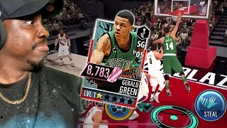 PINK DIAMOND GERALD GREEN POSTER DUNKING! NBA 2K Mobile Gameplay Ep. 39