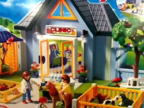 playmobil clinique v t rinaire youtube. Black Bedroom Furniture Sets. Home Design Ideas