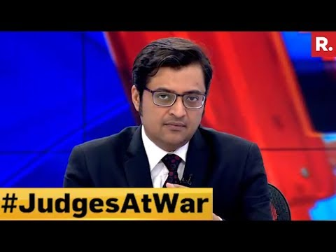Parties Provoking Judiciary Crisis? #JudgesAtWar | Part 1 | The Debate With Arnab Goswami
