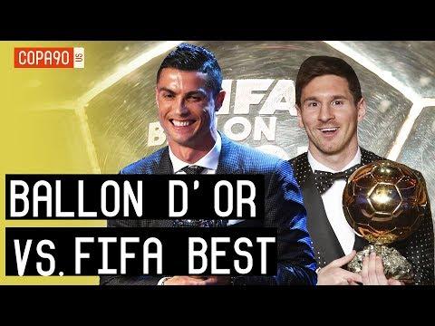 Ballon d'Or vs. FIFA Best Awards Explained