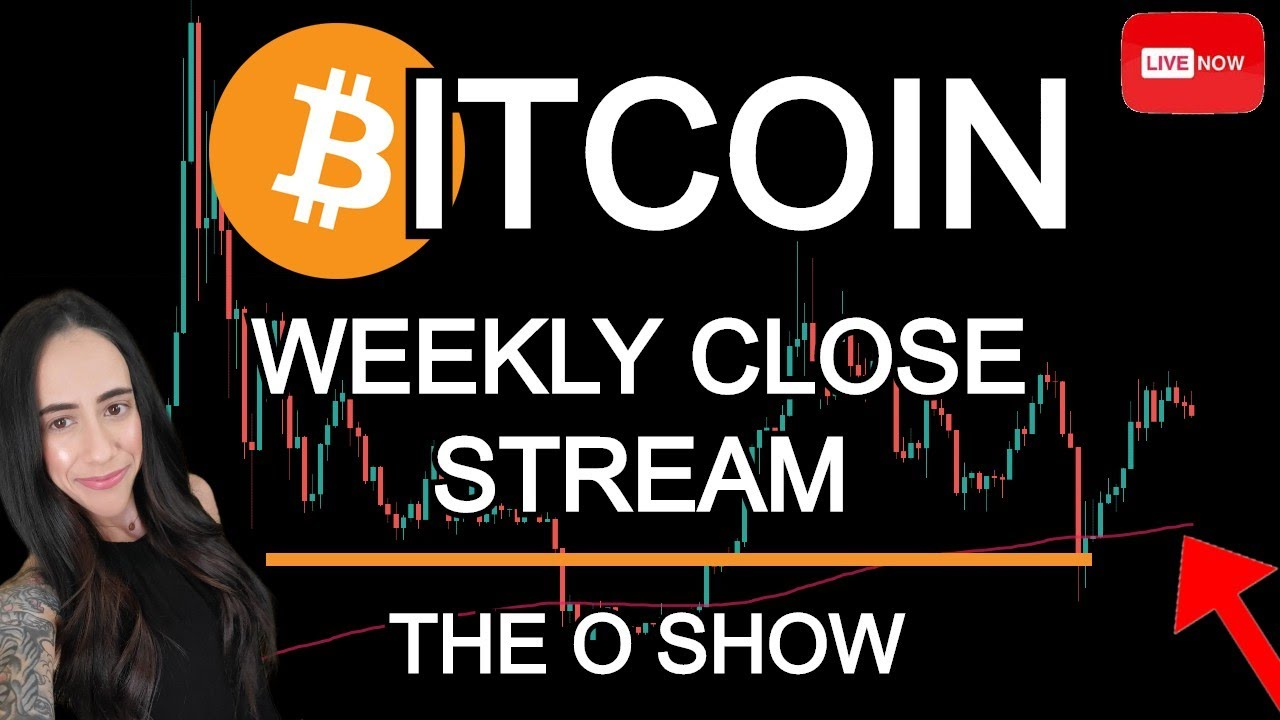 BITCOIN WEEKLY CLOSE AND ALT COIN REQUESTS LIVE STREAM