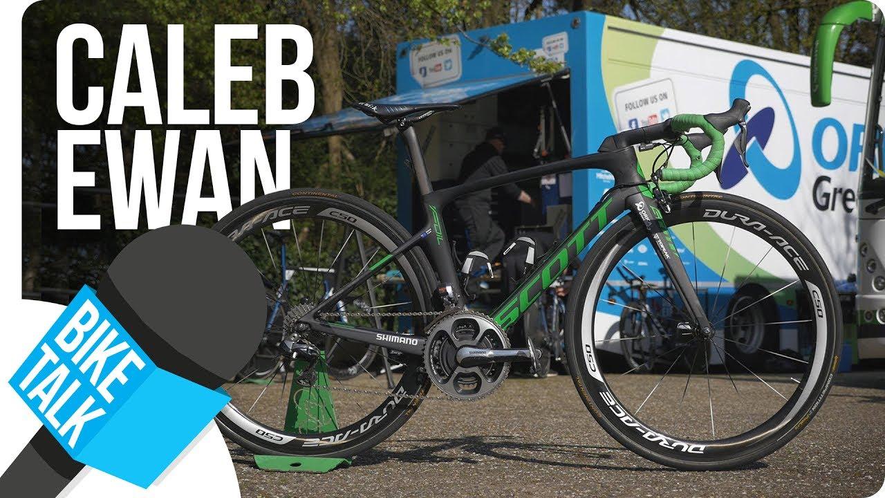 Bike Talk - Caleb Ewan about his Scott Foil  44e076692