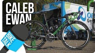 Bike Talk - Caleb Ewan about his Scott Foil | SHIMANO