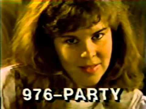 976-PARTY ad from 1988