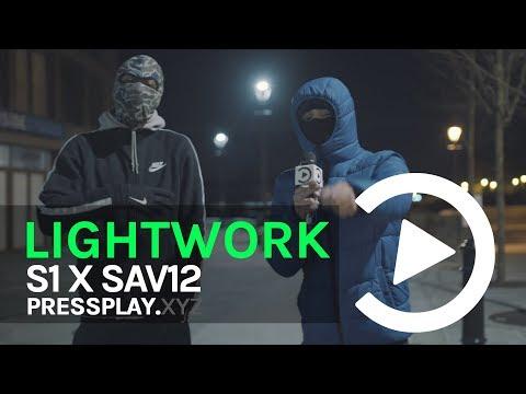 #12World S1 X Sav12 - Lightwork Freestyle | Pressplay