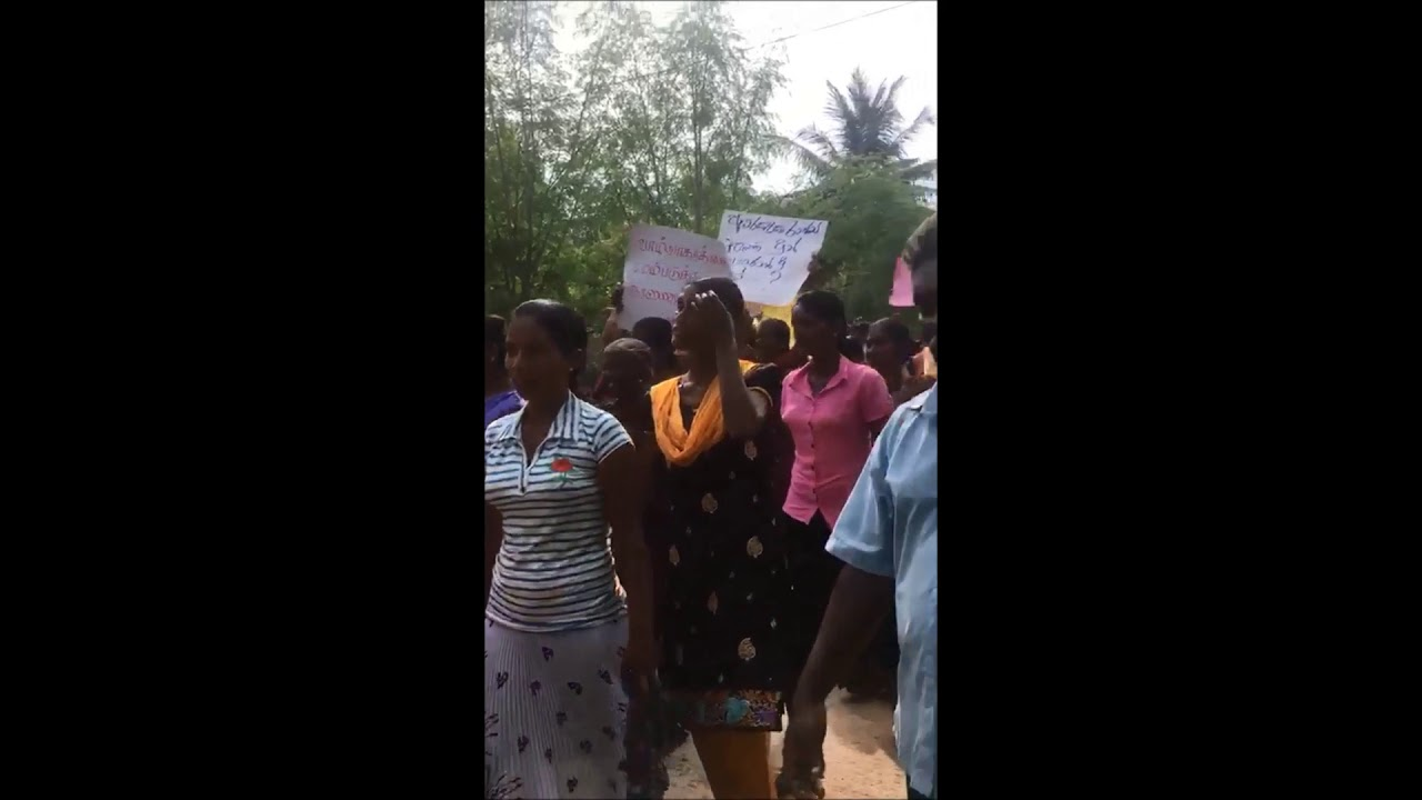 Iranaitivu villagers sail back to their occupied land in daring protest - 2