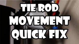 Quick Fix For Delta/Kossel 3D Printer Tie Rod Slop/Movement