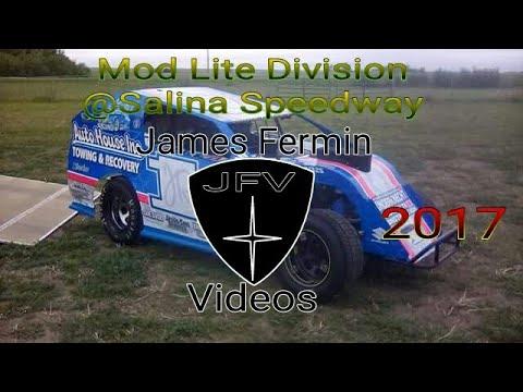 Mod Lites #6, Feature, Salina Speedway, 2017