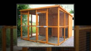 Wooden Dog Kennels Ireland
