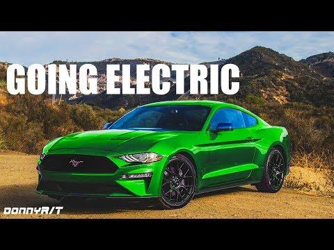 "2021 ""Mach E"" Electric Mustang"