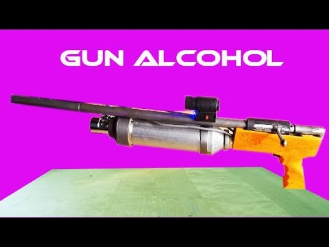 How To Make Super Alcohol Gun Easy