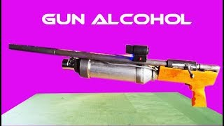 How to Make Super Alcohol Gun Easy - Powered by Alcohol gun, With Demo!