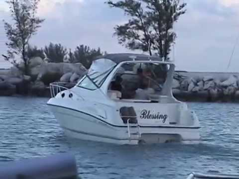 Scott P. Hunter | First Trip to the Bahamas on our boat with Morgan and Daniel