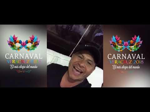 El colombiano Charlie Cardona te invita al Carnaval de Veracruz 2018 del 7 al 13 de Febrero del 2018