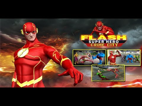 Flash Superhero Games - Super Light Crime City 3D