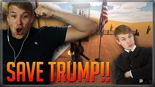 Zachránil jsem Donalda Trumpa (Mr. President)