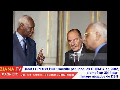 MAGNETO. Henri Lopes, looser à l'OIF: sacrifié par Chirac en 2002 et plombé par DSN en 2014