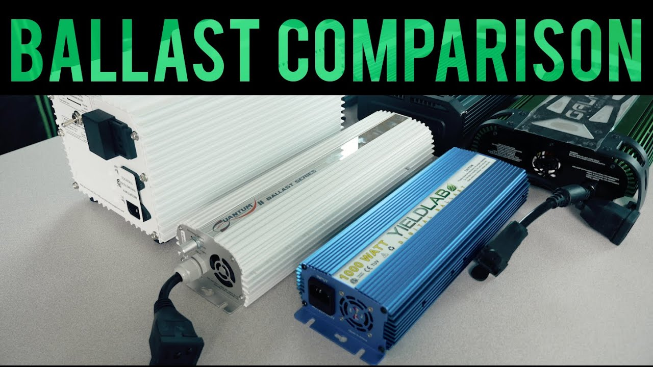 Best Grow Light Ballast Comparison 2015 (Top 6) TEST REVIEW | GrowAce.com - YouTube & Best Grow Light Ballast Comparison 2015 (Top 6) TEST REVIEW ...
