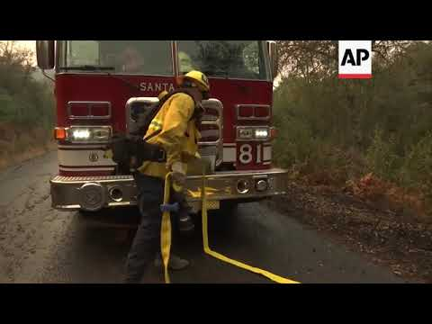 Flames destroy vineyards in Northern California