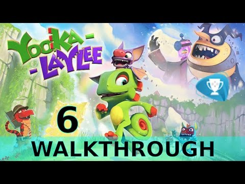 Yooka Laylee  – Icymetric Palace - Walkthrough Part 6