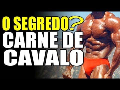 CARNE de CAVALO - O segredo de Serge Nubret