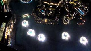Dubai Fountain (At the top view)