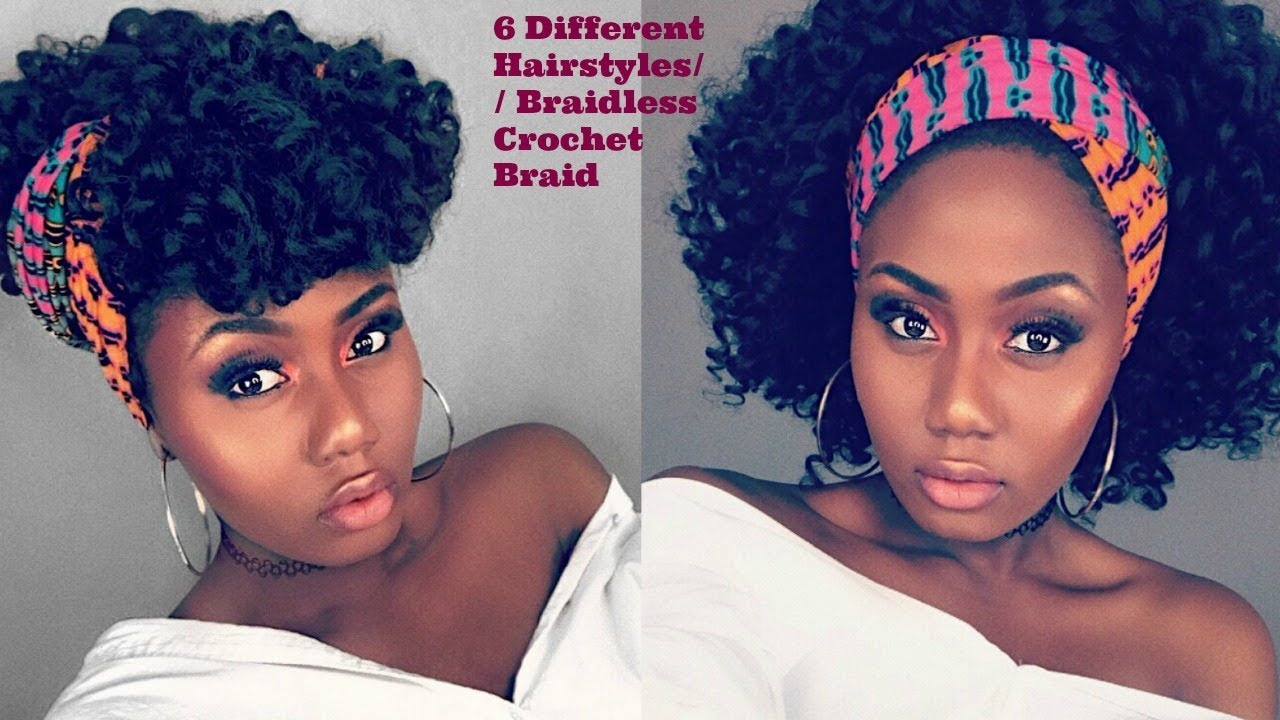 Braidless Crochet 6 Simple And Cute Ways To Style Old Crochet