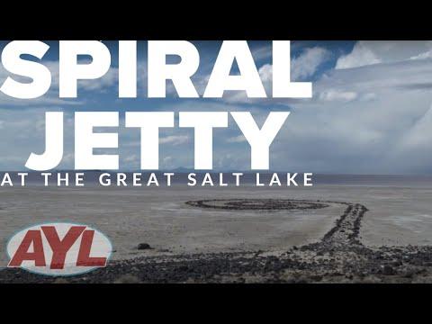 Great Salt Lake Spiral Jetty