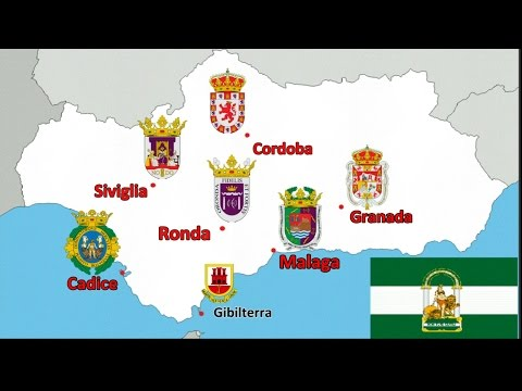 VIAGGIO IN ANDALUSIA-1a tappa-Malaga-2a tappa-Granada (video)