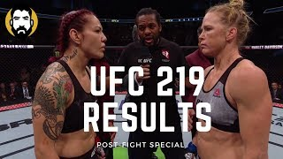 UFC 219 Results: Cris Cyborg vs. Holly Holm | Post-Fight Special | Luke Thomas