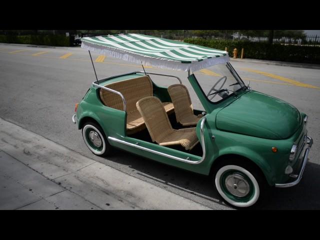 FOR SALE 1971 Fiat 500 model: Jolly