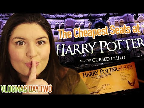 The CHEAPEST Seats at HARRY POTTER and the Cursed Child ✨