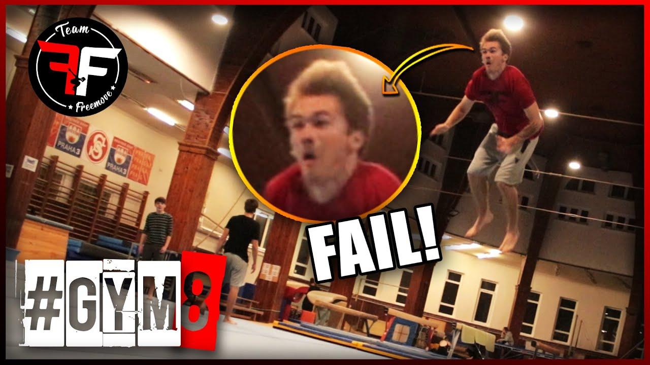 #GYM 8 – Double backflip FAIL který musíš vidět!!!