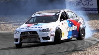 550hp RWD Mitsubishi Lancer Evo X Proto Great Drifting & Sound
