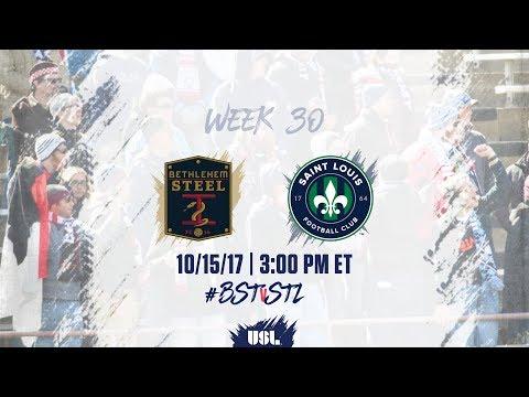 USL LIVE - Bethlehem Steel FC vs Saint Louis FC 10/15/17