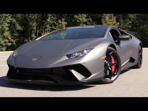 2018 Lamborghini Huracan Performante: Start Up, Test Drive & In Depth Review