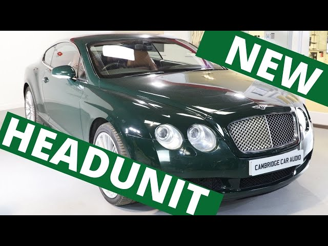 Bentley Continental GT Headunit Replacement | Apple CarPlay | Android Auto | Reversing Camera