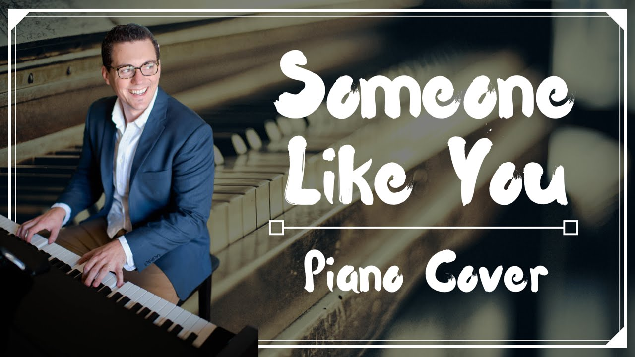someone like you piano cover pdf