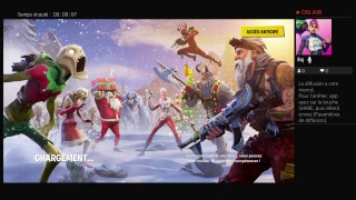 LIVE IN COMPAGNY OF PERSON ON FORTNITE SAUVER THE WORLD