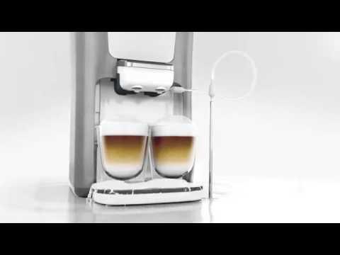 philips senseo latte duo youtube. Black Bedroom Furniture Sets. Home Design Ideas