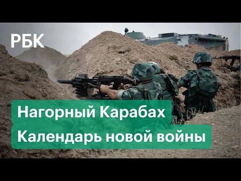 Неделя войны Армении с Азербайджаном. Хронология конфликта в Нагорном Карабахе