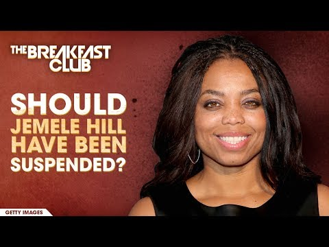 Should Jemele Hill Have Been Suspended?