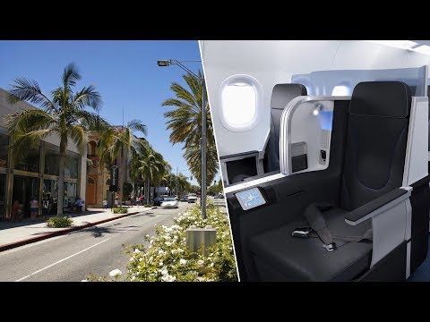 First Class to Beverly Hills + 5-Star Hotel, How Many POINTS?