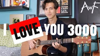 Gambar cover I Love You 3000 Stephanie Poetri Cover Fingerstyle Guitar Andrew Foy